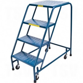 "Rolling Step Stand: 4 Steps, 37"" Platform Height"