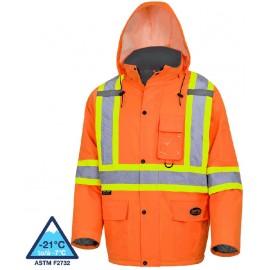 Pioneer Heated Safety Parka: waterproof