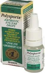 how to use eye drops for pink eye