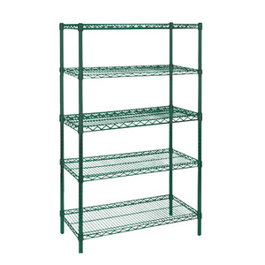Wire Shelving - Green Expoxy