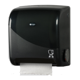 Kruger Noir Touchless Towel Dispenser
