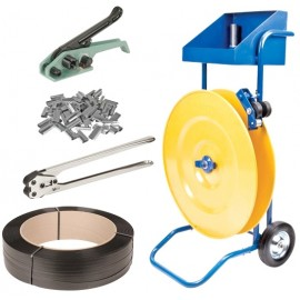 Strapping Dispenser: Steel & Polypropylene