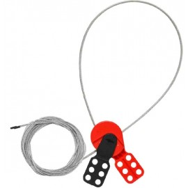 Brady Mini Cable Lockout with Nylon Cable