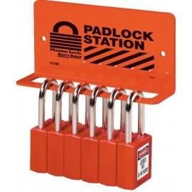 "Padlock Station – 5 KD Safety Locks (1.5"")"