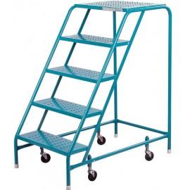"""Rolling Steel Ladders - 22"""" Kleton"""