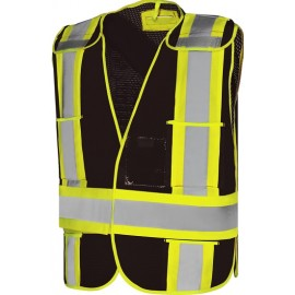 Traffic Vest - 5 Point Tear-Away CSA, O/S