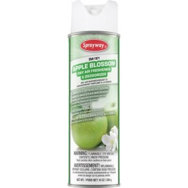 Sprayway Apple Blossom Dry Air & Fabric Deodorizer