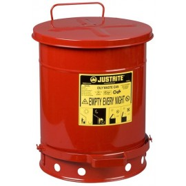 Oily Waste Can: 10 Gal (37.8 L)