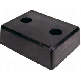 Dock Bumper: Molded Rubber