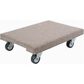 Wood Dolly: Carpeted Medium Duty