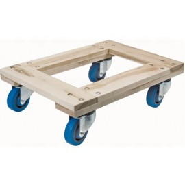 Wood Dolly: Heavy Duty