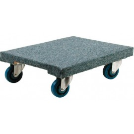 Wood Dolly: Carpeted Heavy Duty