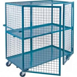 """Security Shelf Cart: 24"""" x 48"""""""