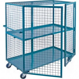 "Security Shelf Cart: 24"" x 48"""
