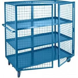 """Security Shelf Cart: 30"""" x 75"""""""