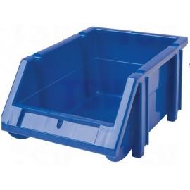 Plastic Bin: Hi-Stak, Blue