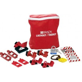 Brady Breaker Lockout Pouch Kit