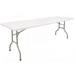 "Table: 96"" Polyethene, Folding"