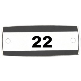 Locker Number Plate: 1 to 25