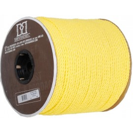 Rope: Twisted 3 Strand Polypropylene