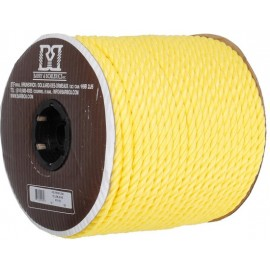 Rope: Twisted 3 Strand Polypropylene