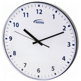 Wall Clock: battery operated, 12 hr.