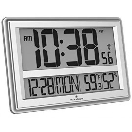 Marathon Atomic Wall Clock