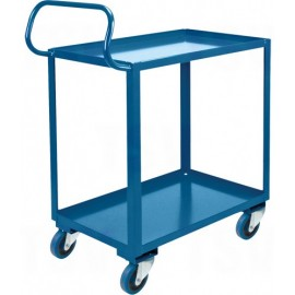 "Ergonomic Shelf Truck: 20""x32""x387"""