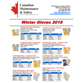 WINTER GLOVES FLYER 2018