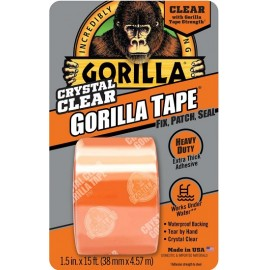Gorilla Tape: Crystal Clear 15' Roll