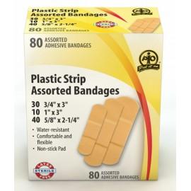 Plastic Strip Bandages - Assorted