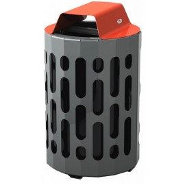 Stingray Waste Receptacle: green