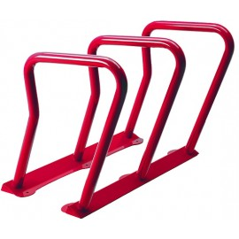Surf Bicycle Rack: red