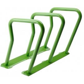 Surf Bicycle Rack: green