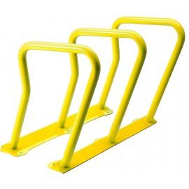 Surf Bicycle Rack: Yellow