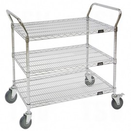 """Utility Cart: 18""""D x36""""W x 45""""H"""