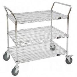 """Utility Cart: 18""""D x48""""W x 45""""H"""