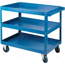 "Shelf Cart: 18""W x 30""D x 36""H"