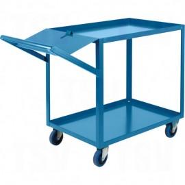 Knocked-Down Shelf Carts - 5-Shelf Utility Trucks