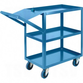 "Order Picking Cart: 18"" x 36"""