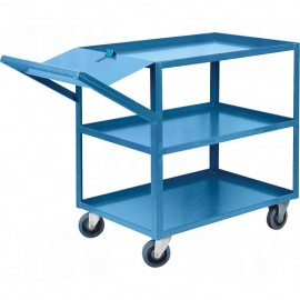 "Order Picking Cart: 24"" x 52"""