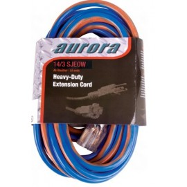 Extension Cord: 14/3 All Weather TPE-Rubber 100'