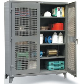 "VENTILATED STORAGE CABINET:24""x36""x72"""