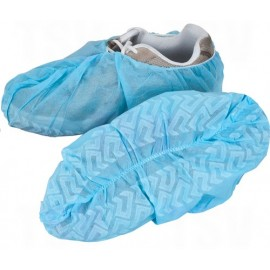 Shoe Covers: X-large, non-skid polypropylene