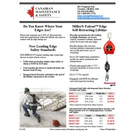 Leading Edge Self-Retracting Life Lines Flyer