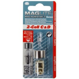 Maglite® Replacement Bulb for 2-Cell C & D Flashlights