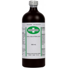 Hydrogen Peroxide: 500 ml