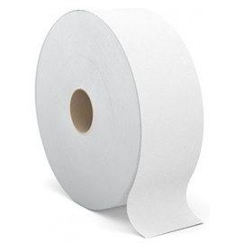 Tandem Jumbo Roll Bath Tissue: White, 6 x 1400'