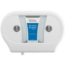 Tandem Double Jumbo Roll Bath Tissue Dispenser