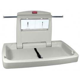 RUBBERMAID BABY CHANGING STATION: horizontal
